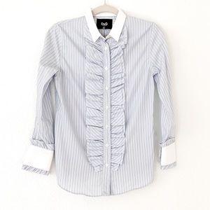 Dolce & Gabbana Ruffle Button Down Shirt